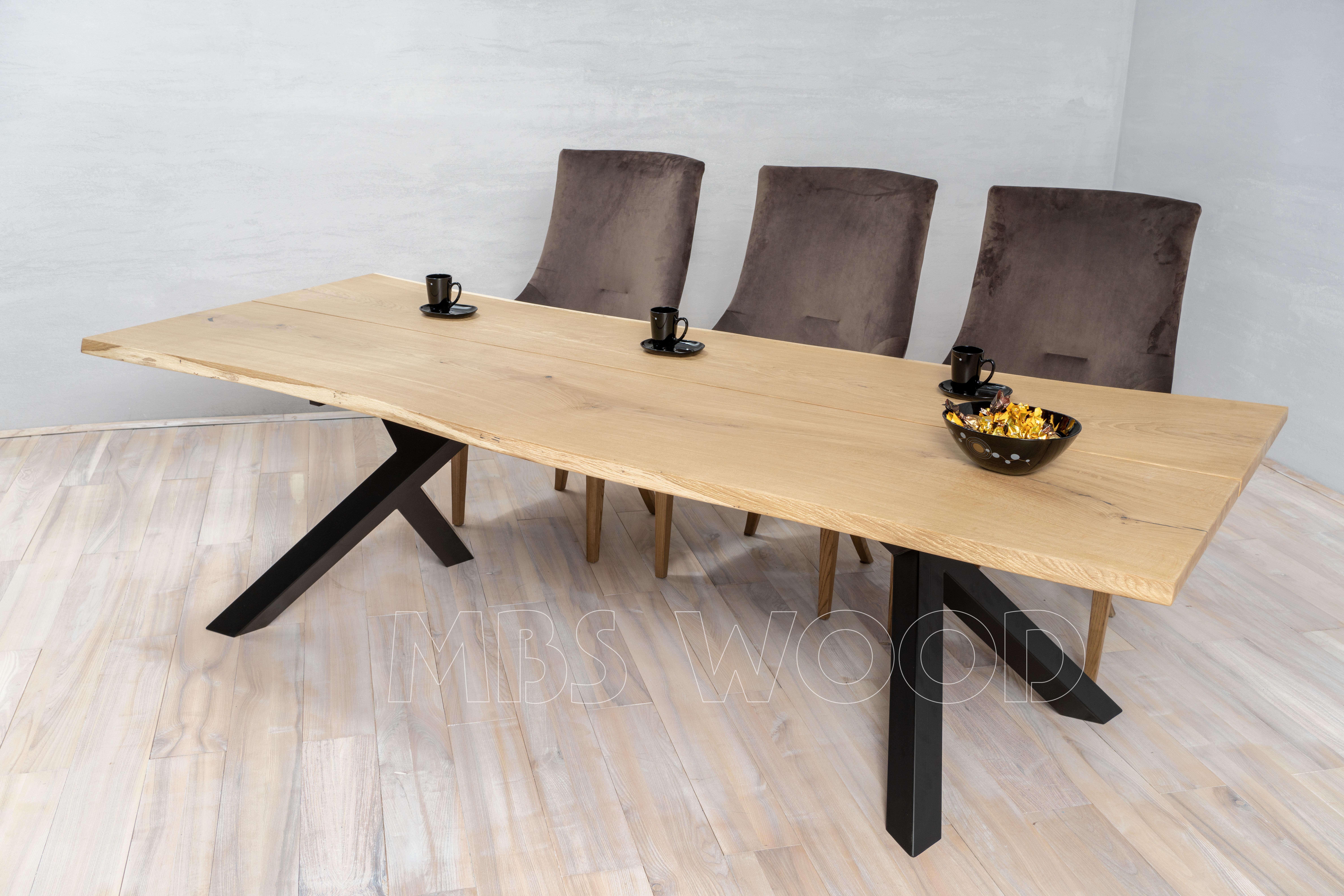 egetræsbord