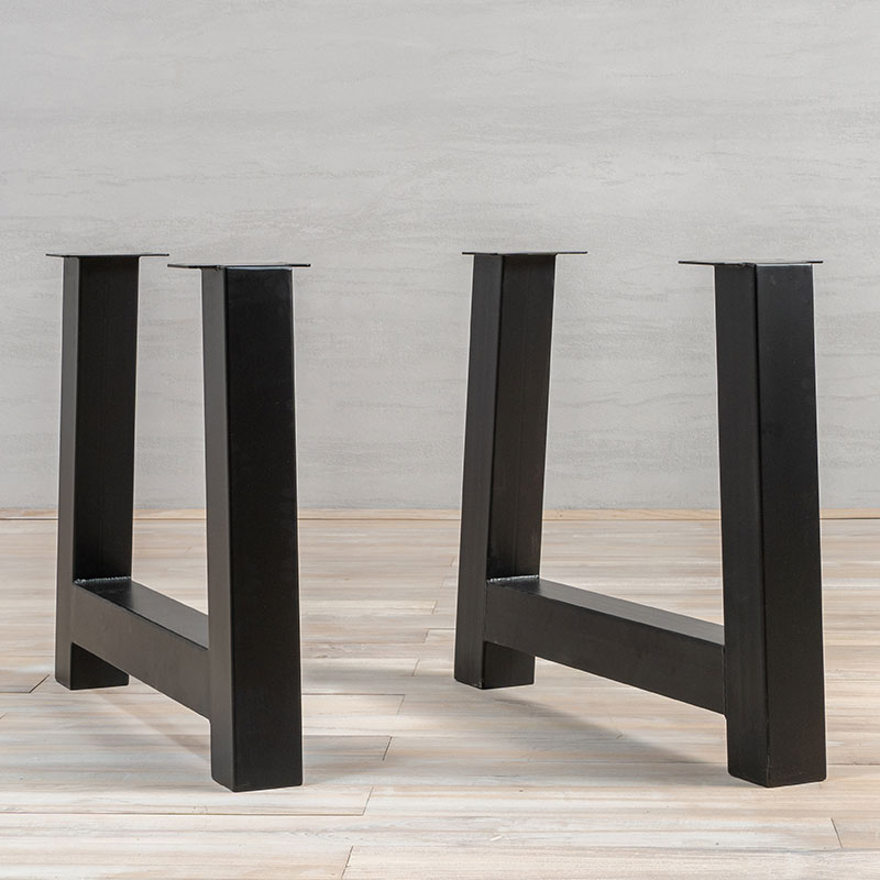 Black Metal Table Legs A Shape